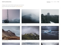 Photography Portfolio / Gallery Grid