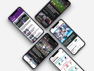 Rugby World Cup 2019 - Mobile App #2