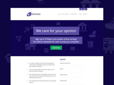 STViews Panel Website