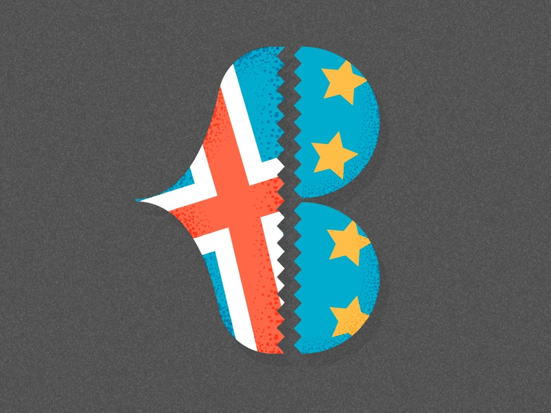 36 Days of Type: B letter typography european british heart broken brexit 36days-04 36days-b 36daysoftype b