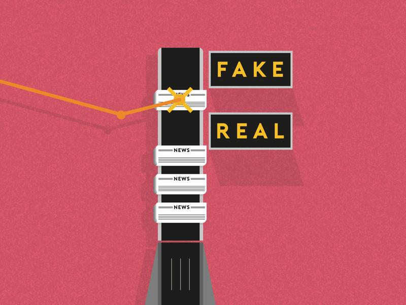 Fake News trump news fake f vector illustration 36daysoftype letter type
