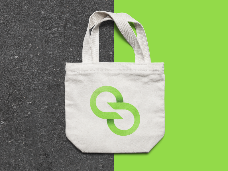 SERGREEN (3/4) ecology icon logo brand identity branding design eco renewable energy brand design brand
