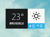Weather Pop-up