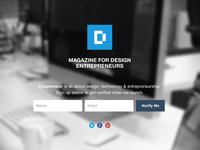 Despreneur Landing Page