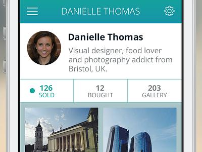 Refe iOS App Profile refe ios mobile ui app profile