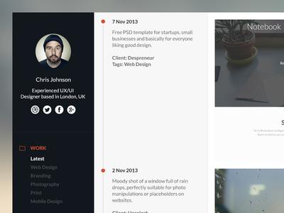 Timeline Portfolio Tutorial