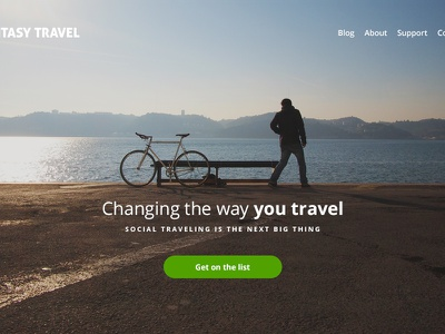 Landing Page Tutorial Preview landing page web design tutorial typography cta