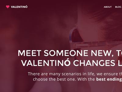 Valentino - Free PSD Template
