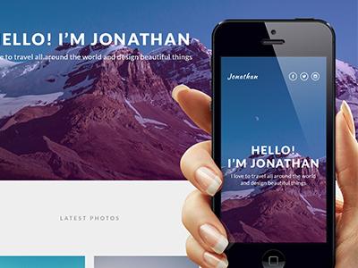 Instagram Based Portfolio Tutorial instagram portfolio web design tutorial
