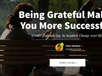"""Gratitude Log"" Landing Page Design Tutorial"