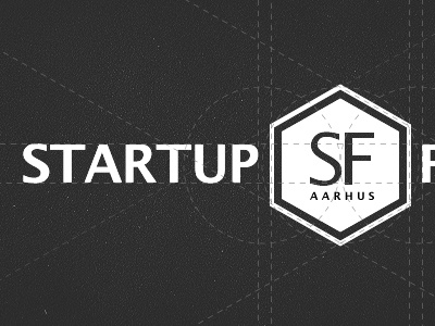 Startup foundry aarhus logo design process