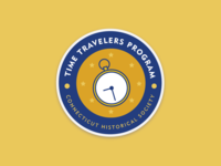 Time Travelers Badge