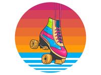 Retro Races Roller Skates