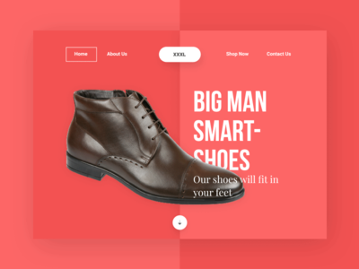 XXXL Shoes- Landing page wip