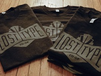 Lost Type T-Shirts