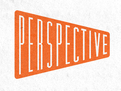 Perspective  typography study typography lettering shape orange