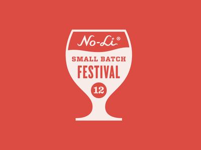 No-Li Small Batch Festival logo beer craft festival mark