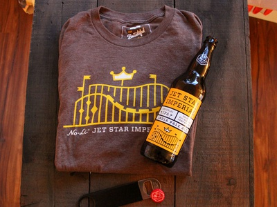 Jet Star Shirts beer craft beer brand apparel t-shirt shirt