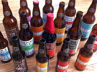 No-Li: 3 Years beer packaging screen printed series no-li beverage bottle craft beer