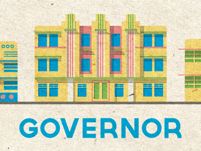 Governor font alphabet illustration miami halftone lost type losttype.com co-op cooperative fonts typefaces lettering