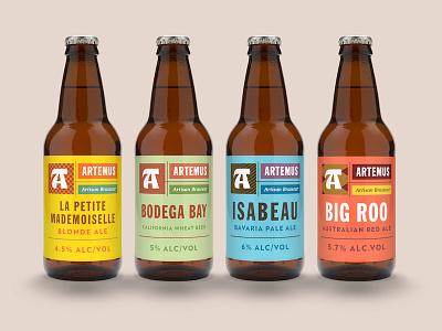 Artemus Labels artemus french paris bottle packaging brewery