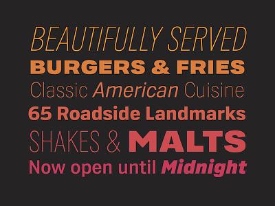 Sonic Sans (Custom typeface for Sonic Drive-In) fonts font restaurant sonic drive-in typeface custom