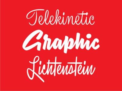 Script Exercises brush digitized vectorized script lettering