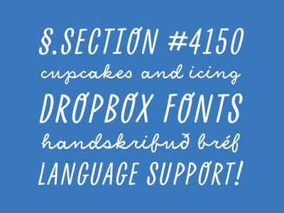Dropbox Fonts dropbox custom font type design typeface