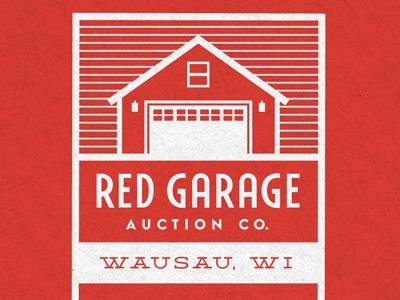 Red garage card