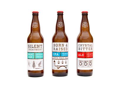 No-Li Brewhouse branding packaging identity beer brew ale ipa pale bottle screenprinted 22oz