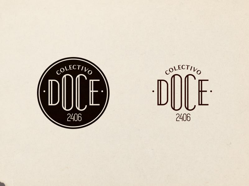 Doce Colectivo stamp logo brand