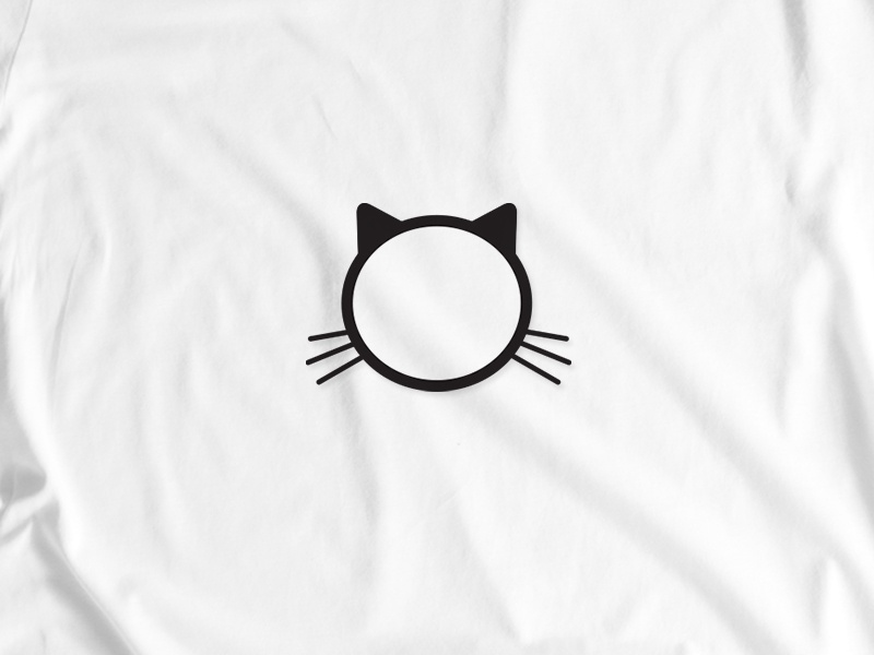 Aime Cat flat design minimal cat illustration cat tshirt graphics tshirt design tshirt design vector