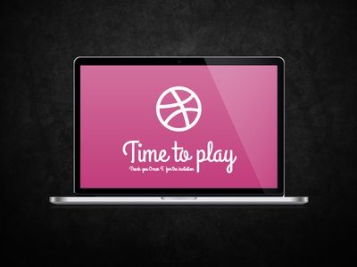 Thank you Omar F. thanks thank you dribbble time to play invitation giveaway shot first shot