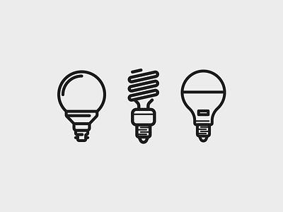 Eco Bulbs smarthome future energy bulb sustainable lighting eco art icon daily