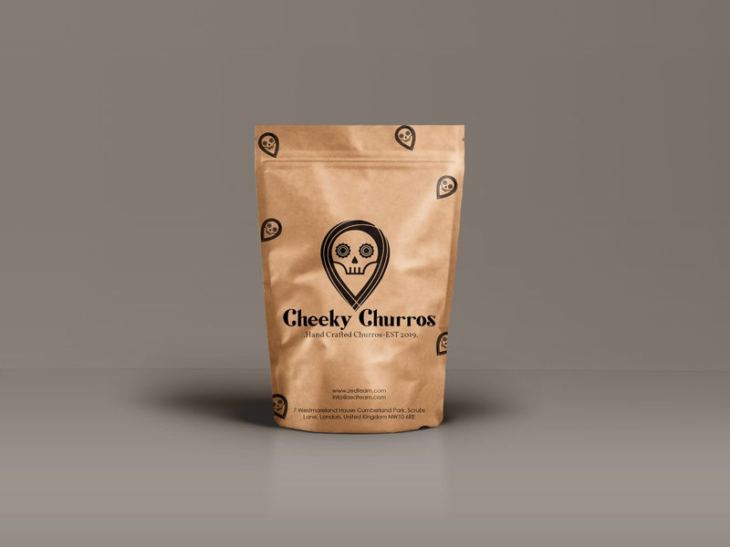 Cheeky Churros branding freelancing designagency illustration zedteamdesign logo design freelance design zedteam zeddesign design