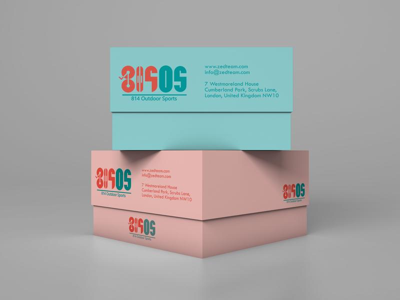 814OS logo design logo freelancing designagency illustration zedteamdesign branding zeddesign zedteam design