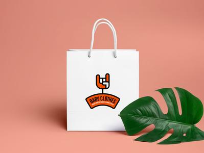 Baby Clothes logo logodesign freelancing designagency illustration zedteamdesign branding zeddesign zedteam design
