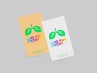 Live For Today logo design illustration logo freelancing designagency zedteamdesign branding zeddesign zedteam design
