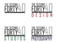 The Second Forty logo design