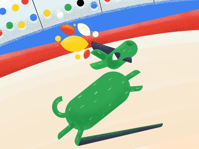 Olympic Games - Tokyo 2020 olympics 2020 tokyo games olympic dog design art character illustration design