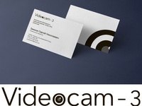 Business card and LOGO for a video surveillance company video surveillance logo graphic illustrator photoshop design art business card design