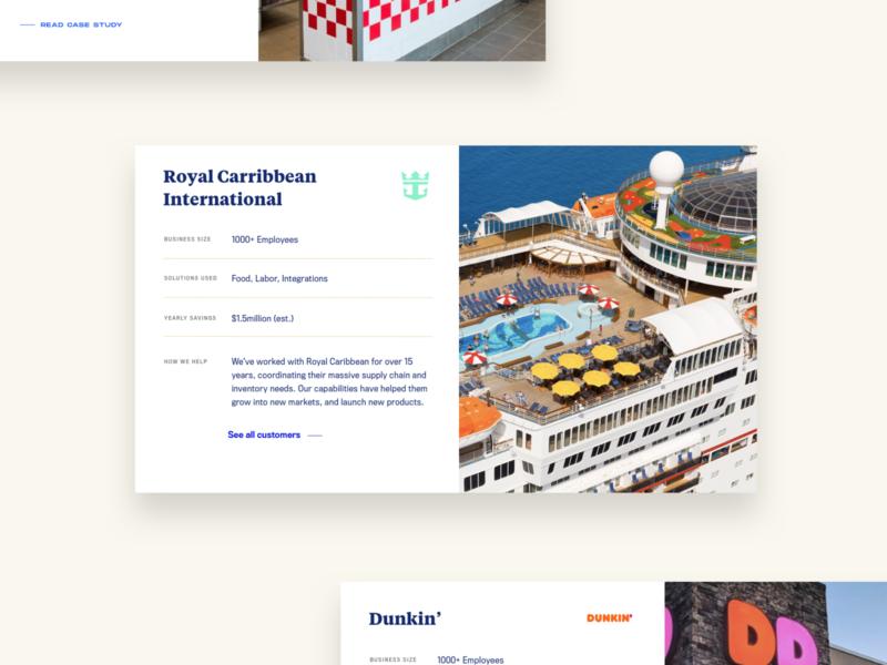 Crunchtime! visual design marketing site design website ui