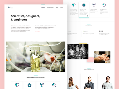 Modern Meadow  ux science biofabrication modern meadow biotech ui design