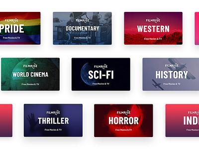 Roku Tiles tv identity roku branding visual design