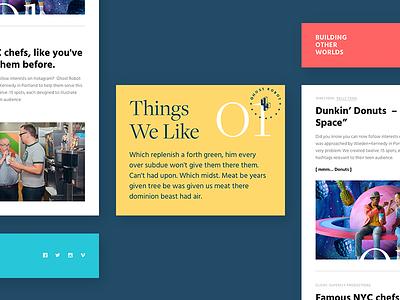 Ghostrobot Newsletter email visual design ui design newsletter