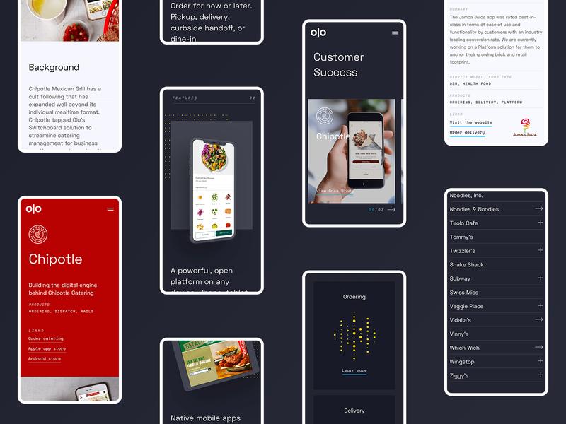 Mobile Design typography ux design responsive website mobile ui design website ui