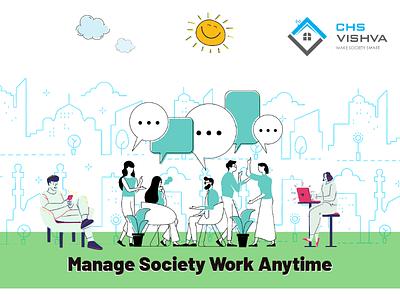 CHS Vishva : An Online Portal Manages Housing Societies business online software
