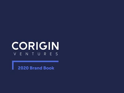Corigin Ventures colorful modern brand book styleguide art direction patterns vector logo design graphic design brand identity brand agency art branding logo