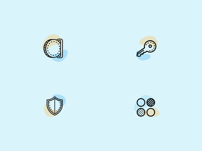 Two-Tone Icon Set