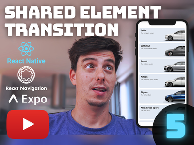 Ep.5 - React Native Shared Element Transition [YouTube] youtube reactjs react native animation animation flatlist android ios shared element transition shared element open source youtube tutorial tutorial animation react native